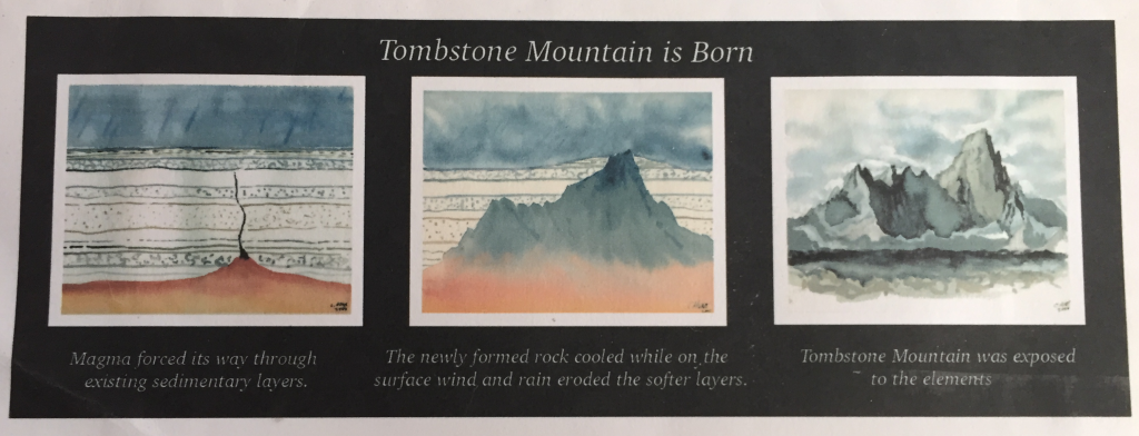 Tombstone Mountain is Born